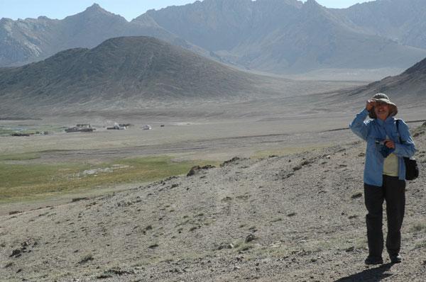 パミール山中の小部落